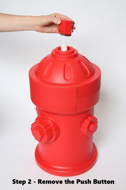 Potty Pad Waste Can Fire Hydrant